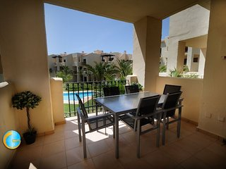 Roda Golf - Apartment overlooking the pool