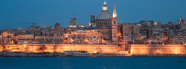 The cultural capital of Malta, Valletta is full of history and well worth a visit