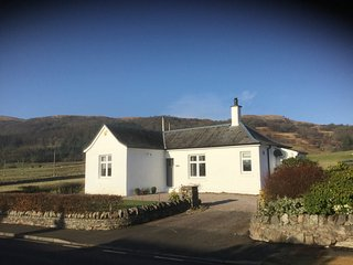 A little gem in the west highlands Loch Fyne Inveraray woodburner sleeps 4
