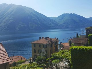 House with lage terrace, Argegno, Lake Como