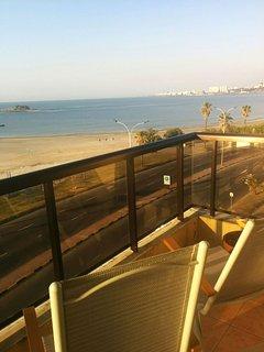 Balcony in the morning