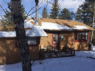 Charming Romantic Vintage Log Cabin