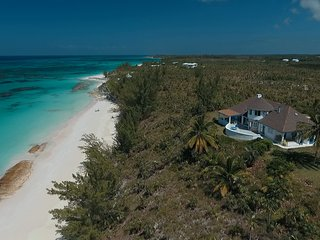 Newly Renovated Beachfront Estate, 11 Private Acres On Secluded Pink Sand Beach