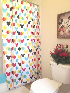 Mickey & Minnie 2nd Floor Hall Bath