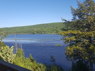 River Denys Lodge at the Mouth to the Bras d`Or Lake on Cape Breton Island