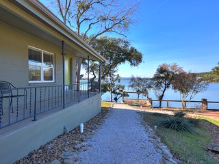 Lake View House on Lake Buchanan
