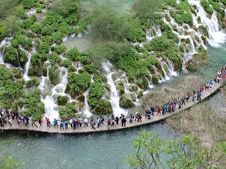 Quite place near by Plitvice Lakes