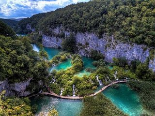 Quite place near Plitvice Lakes 2
