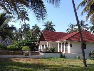 Garden Beach Zanzibar, South Villa- private villa fully serviced