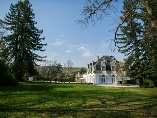 Holiday chateau with heated pool south west France, Sauveterre-de-Béarn