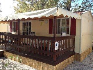 Stacaravan 6. te huur op Camping Paradiso in Viareggio aan Zee, Toscane, Italië