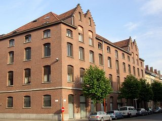Studio apartment in Antwerp with Lift, Washing machine (405510), Anvers