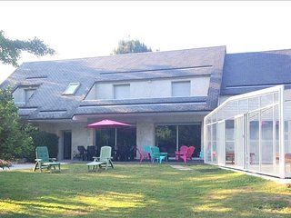 Country house in Chouzy-sur-Cisse with Terrace, Pool, Parking, Balcony (484716)
