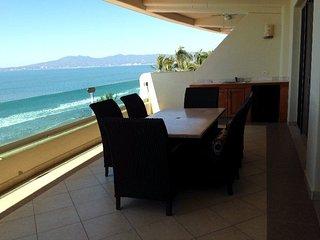 Apartamento en  primera linea de playa Nuevo Vallarta Mexico