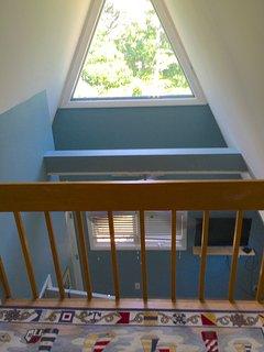 Loft area above master bedroom
