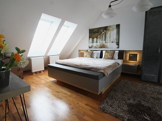 SUPER CENTRAL NEW PENTHOUSE*ST STEPHENS 4 minutes*2BED2BATH*LIFT*QUIET*TERRACE*, Wienerbruck
