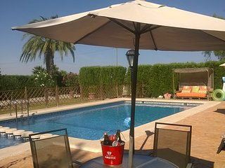 Villa, Private Pool, Garden,  Children's Play Area, BBQ, wifi, disabled access.