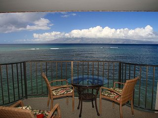 Direct Ocean front  Kahana Reef #419