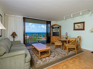 Sea Yourself in Kaanapali Shores #916 Ocean View 2 Bedroom with Central A/C