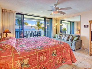 The charm of historic Lahaina Town: directly on the beach  Lahaina Shores #321