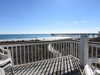 Archer– Relax and unwind at this bright and airy oceanfront townhouse, Wrightsville Beach