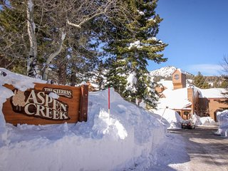 Fully-renovated rental with shared hot tub/pool & beautiful mountain views!, Mammoth Lakes