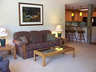 Condo with shared hot tubs, pool, and sauna & great mountain views!, Mammoth Lakes
