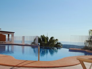 Flat with terrace and amazing pool