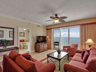 Beautiful Gulf Front Condo located in the heart of Panama City Beach. Free Wifi,