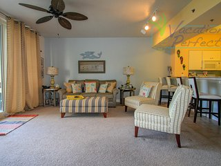 3rd floor unit with same level parking! No elevators, no hassle.  Book your stay, Panama City Beach