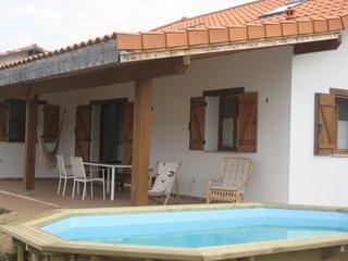 preciosa casa con piscina, entorno tranquilo y seguro cerca de Hossegor y playas