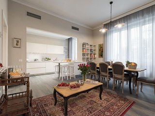 Spacious Oasis apartment in Piazza della Libertá with WiFi, airconditioning, Florencia