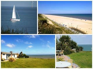 Stunning location next to sandy beach at Beachside Holidays Norfolk, close to Gt Yarmouth & Broads