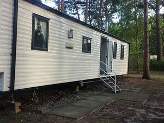 Ref 11266 Gladwell court 8 Berth caravan, in a quiet location at Wild Duck Haven, Belton