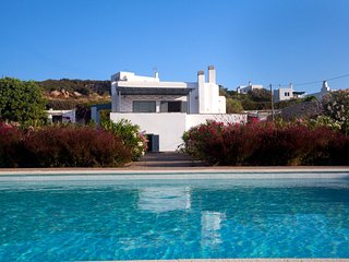 Private villa with private pool next to Naoussa