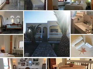 Spacious Beautiful Sea View Villa | 2 acres, Garden, BBQ, Sea View Veranda, Kamari