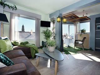 Garden Suite - Apartamento amplio y luminoso en Málaga Centro