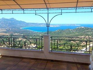 Villa BELLA VISTA LUMIO, 4BR, wifi, A/C, amazing sea view, Lumio