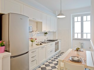 The KITCHEN: enjoy your breakfast and meals in a retrò chic fully equipped gorgeous kitchen.