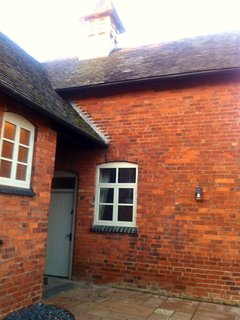 Private entrance to The Old Stables - Gound floor Cottage.