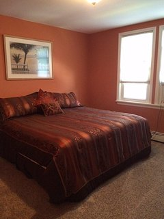 2nd floor master bedroom - king bed