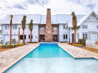 Brand New! A Stones Throw, Private pool. Spa, Outdoor Kitchen, Gulf Views!, Miramar Beach