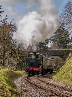 South Devon's steam railway leaves from Buckfastleigh station, a a few minutes drive away