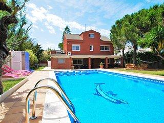 Villa para 8 personas con gran piscina privada, Calafell