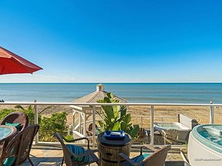 2br, 2ba Beach Front Vacation Rental in Carlsbad & A/C Equipped