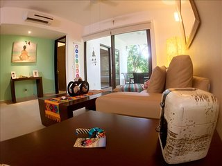 Modern Condo in Gated Resort, Yoga, Gym, Pools