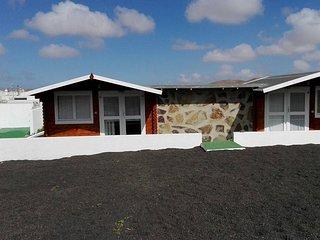 Cabañas Volcan Capellania Campo