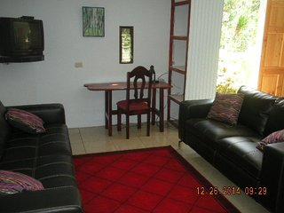 Beautiful One BR, Plus, Overlooking River, Near to Everything:  Town, Beach, Mtn, San Isidro de El General