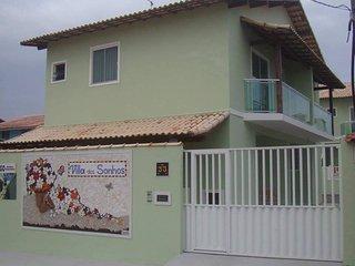 Villa dos Sonhos - Casas duplex na praia de Figueira - Arraial do Cabo
