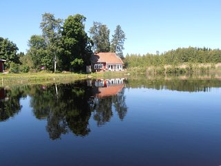 Lakeside Villa beautifully and very serenely situated Uppland Sweden